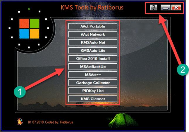 Ratiborus KMS Tools 2019